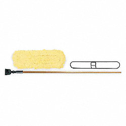 Dust Mop Kit, Cotton/Synthetic Blnd, 36 In