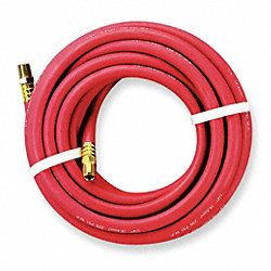 Hose, Air, 1/4 In ID x 1/4 In NPT, 25Ft