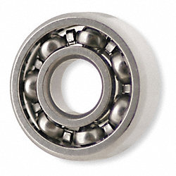 Mini Ball Bearing, Open, Bore 0.2500 In
