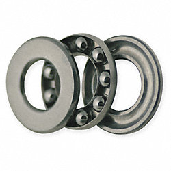 Thrust Bearing, Grooved, Bore Dia 6.0mm
