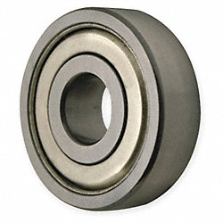 Radial Bearing, Shielded, Bore 17 mm