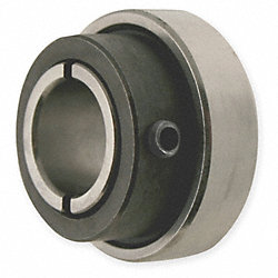 Collar Bearing, Clamp Type, Bore 0.5000 In