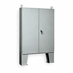 Enclosure, Steel, 72 x 60 x 12 In