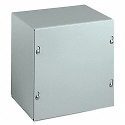 Enclosure, Steel, 6 x 6 x 4 In