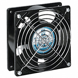 Axial Fan, 230VAC, 4-5/7In H, 4-5/7In W