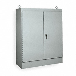 Enclosure, Steel, 90.12 x 72.12 x 20.12 In