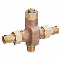 Thermostatic Mixing Valve, 1/2 In NPT