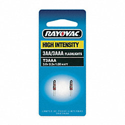 Replacement Flashlight Bulb, Krypton, Pk2