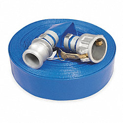 Discharge Hose, 2 In IDx50 Ft, 80 PSI Max