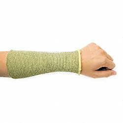 Cut Resistant Sleeve, 10 In. L, Kevlar(R)