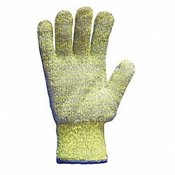 Cut Resistant Gloves, Blue/Gray, L, PR