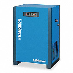 Compressed Air Dryer, 100 CFM @38F, 25 HP