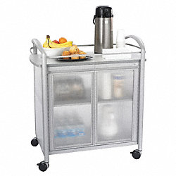 Refreshment Cart, Gray