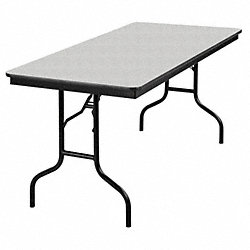 Banquet Table, Gray Glace, 30 In x 5 ft.