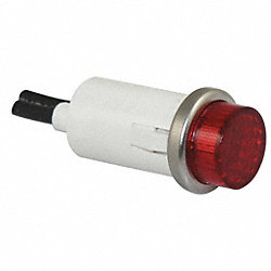 Raised Indicator Light, Red, 14V