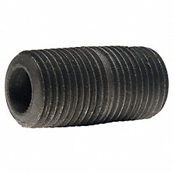 Pipe Nipple, 4 In, 9 In L