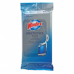 Electronics Wipes, PK12, 25 Wipes
