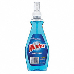 WINDEX Glass Cleaner 12 oz Blue PK12 Glass Cleaners