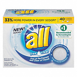 Powder Laundry Detergent, 52 oz., PK 6