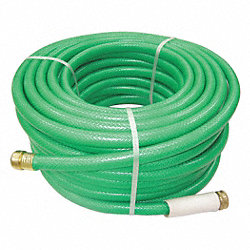 Water Hose, Rnfrcd PVC, 5/8 In ID, 75 ft L