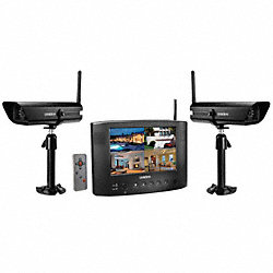 Indoor/Outdoor Video Surveillance, 2 Cam