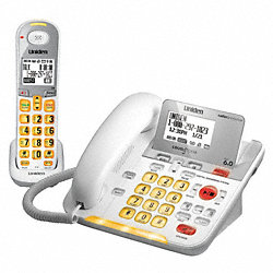 Cordless/Corded Telephone, Amplified