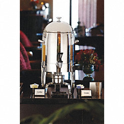Coffee Urn, Silver/Gold, 11 qt.