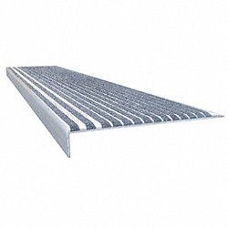 Stair Tread, Concrete Gray, Extruded Alum