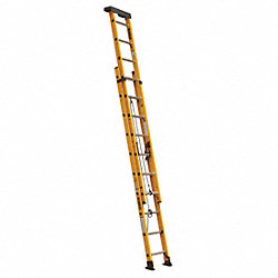 Extension Ladder, Fiberglass, 17 ft., IA