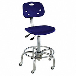 Chair, Class 1000 Clean, PP, Navy