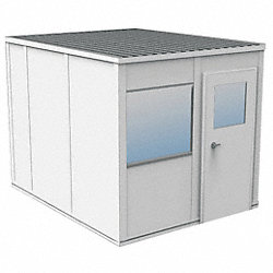 Modular InPlant Office, 3Wall, 8x10, Gypsum