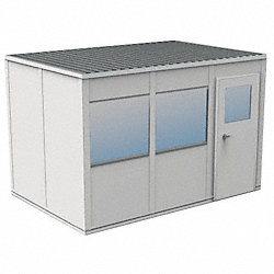 Modular InPlant Office, 3Wall, 8x12, Vinyl