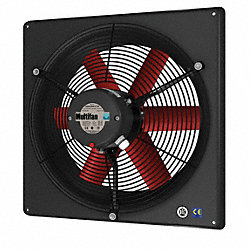 Exhaust Fan, 12 In, 120V
