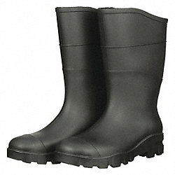 Black Steel Toe Unisex Boot, PR