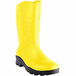 Yellow Steel Toe Unisex Boot, PR