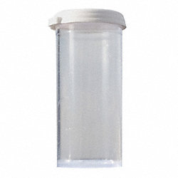 Vial with Cap, 185mL, 10 Pk