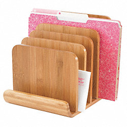 Letter Tray/File Holder, 6, Comp