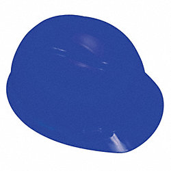 Hard Hat, 4 pt Pinlock, HDPE, Blue