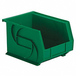 Part Bin, 7Hx8-1/4Wx10-3/4D, Green