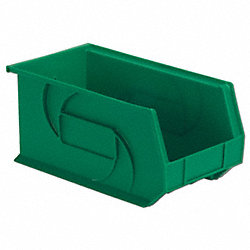 Part Bin, 7Hx8-1/4Wx14-3/4D, Green