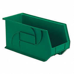 Part Bin, 9Hx8-1/4Wx18D, Green