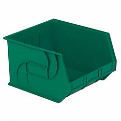 Part Bin, 11Hx16-1/2Wx18D, Green