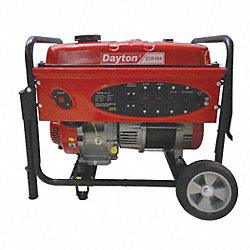 Portable Generator, 4000 Rated Watts
