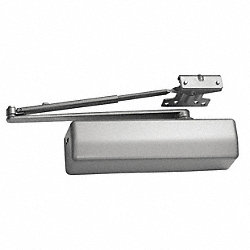 Door Closer, Hold Open, Iron, 11-5/8 In.