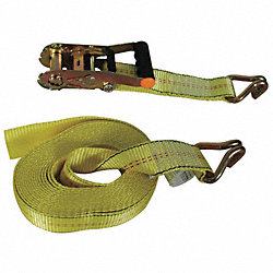 Tie-Down Strap, Ratchet, 25ft x 2In, 3330lb