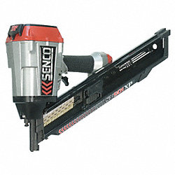 Air Framing Nailer, Clipped, 34 Deg, Paper