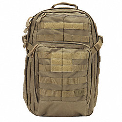 Rush 12 Backpack, 18x11x18 In, 10 Pkt