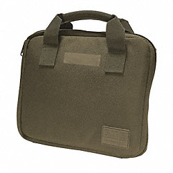 Pistol Case, Single, Tac OD, 9 x 11 In