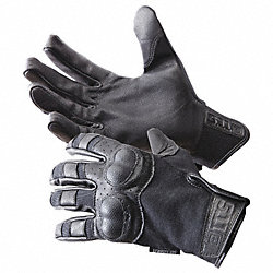 Leather Gloves, Goatskin, Black, L, PR