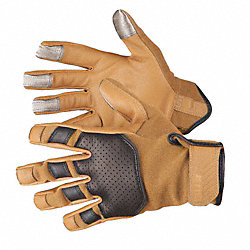 Mechanics Gloves, Coyote, XL, PR